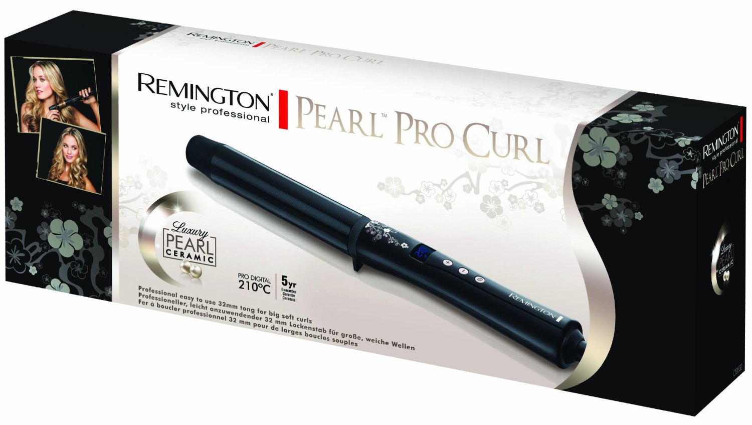 how to use curling tongs correctly